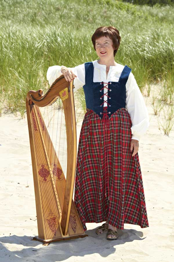 Angelica Ottewill in Celtic Costume