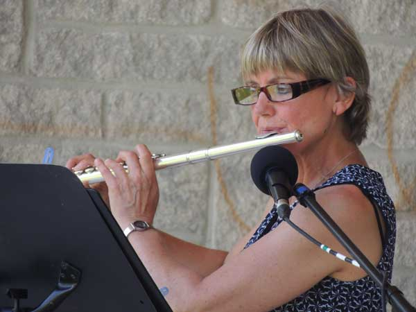 Véronique Kwakkernaat at Warkworth Art in the Park 2012